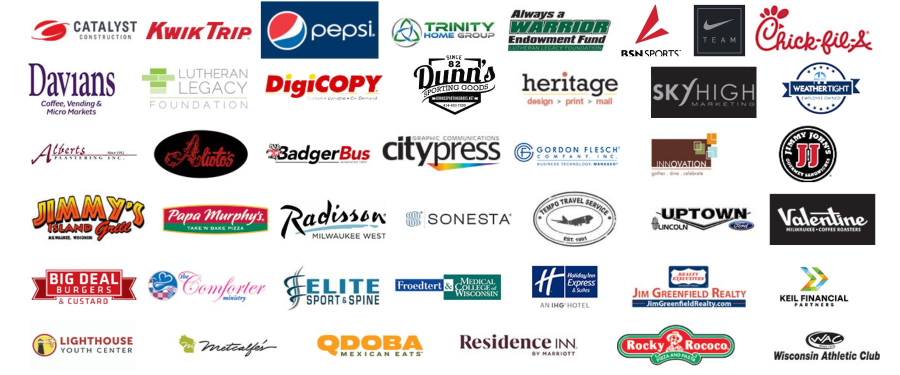Believe in the Green Partner Logos